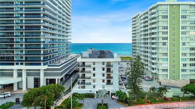 5845 Collins Ave #504, Miami Beach, FL 33140 (MLS #A10586679) :: The Howland Group