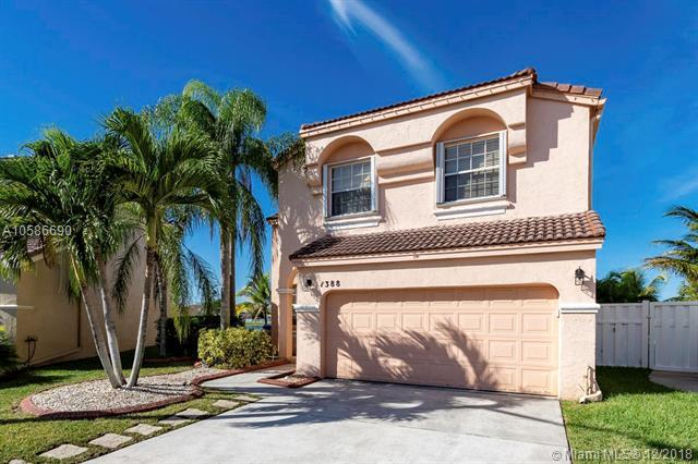 1388 NW 157th Ave, Pembroke Pines, FL 33028 (MLS #A10586690) :: RE/MAX Presidential Real Estate Group