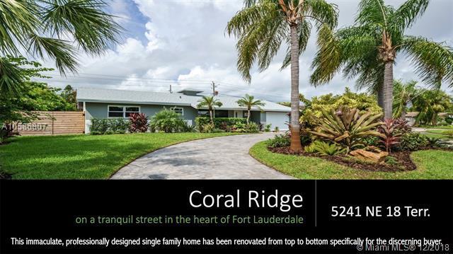 5241 NE 18th Ter, Fort Lauderdale, FL 33308 (MLS #A10586807) :: Castelli Real Estate Services