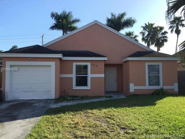 735 SW 7th Ct, Florida City, FL 33034 (MLS #A10586829) :: Miami Lifestyle