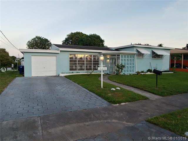 14401 NW 13th Rd, Miami, FL 33167 (MLS #A10591941) :: Green Realty Properties
