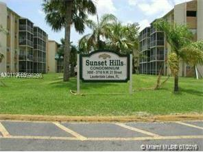 3600 NW 21st St #411, Lauderdale Lakes, FL 33311 (MLS #A10598298) :: The Teri Arbogast Team at Keller Williams Partners SW