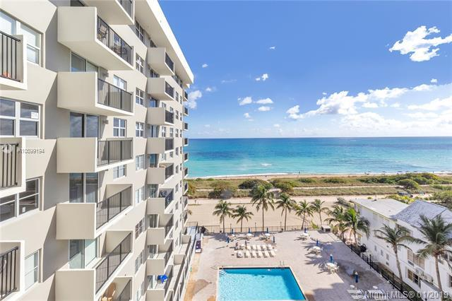 9273 Collins Ave #810, Surfside, FL 33154 (MLS #A10599194) :: The Jack Coden Group