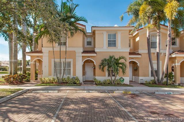 3092 SW 129th Ter #102, Miramar, FL 33027 (MLS #A10599993) :: Green Realty Properties