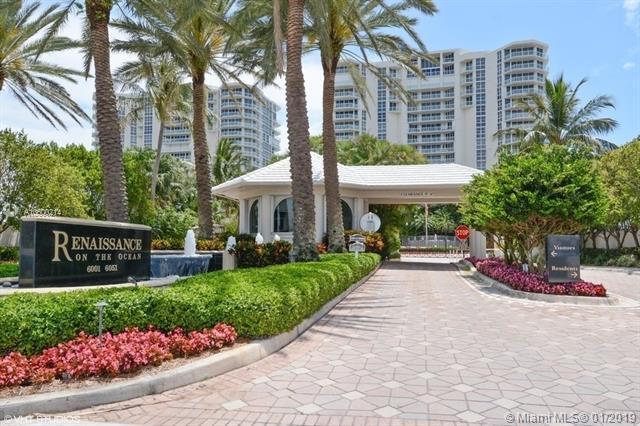 6051 N Ocean Dr #607, Hollywood, FL 33019 (MLS #A10600214) :: Laurie Finkelstein Reader Team