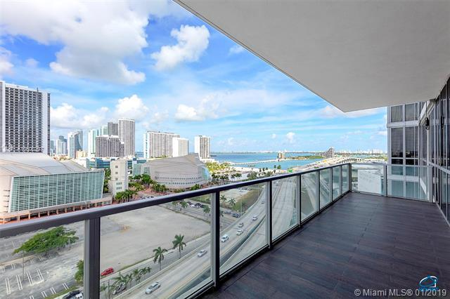 1100 Biscayne Blvd #1603, Miami, FL 33132 (MLS #A10600297) :: ONE Sotheby's International Realty