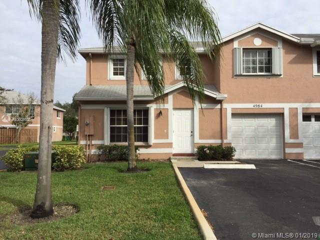 4984 SW 123rd Ave #4984, Cooper City, FL 33330 (MLS #A10601605) :: The Chenore Real Estate Group