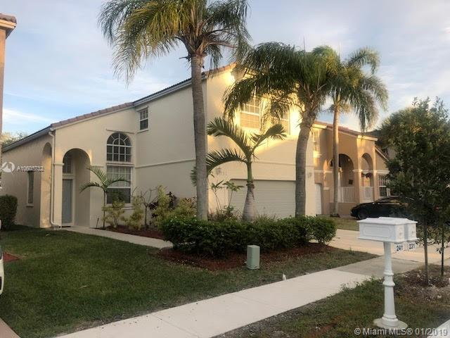 231 NW 151st Ave, Pembroke Pines, FL 33028 (MLS #A10603732) :: The Teri Arbogast Team at Keller Williams Partners SW