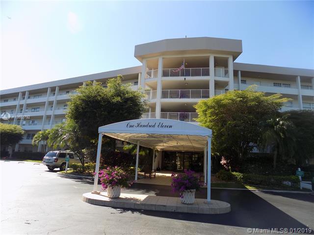 535 Oaks Dr #206, Pompano Beach, FL 33069 (MLS #A10603792) :: The Teri Arbogast Team at Keller Williams Partners SW