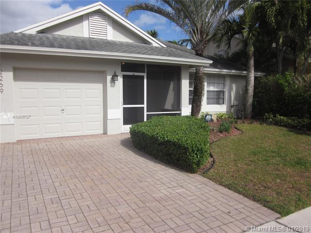 12269 NW 31st St, Sunrise, FL 33323 (MLS #A10605127) :: Green Realty Properties