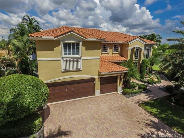 14401 SW 37th St, Miramar, FL 33027 (MLS #A10606766) :: Lucido Global