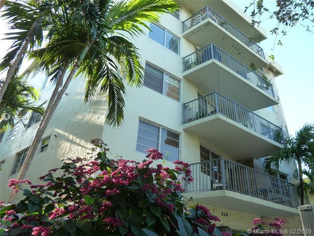 220 Washington Ave 4C, Miami Beach, FL 33139 (MLS #A10613476) :: The Riley Smith Group
