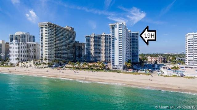 4300 N Ocean Blvd 19H, Fort Lauderdale, FL 33308 (MLS #A10615789) :: Laurie Finkelstein Reader Team