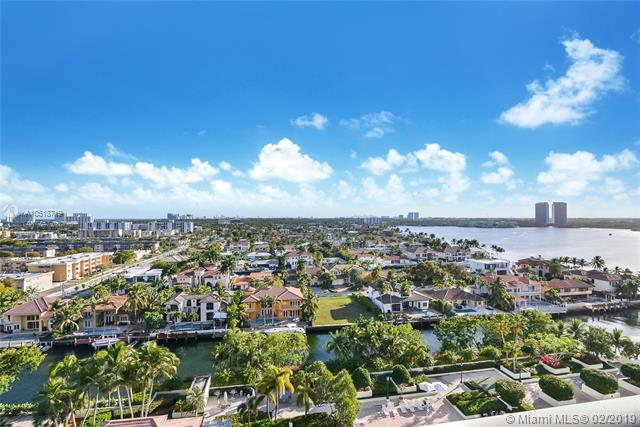1000 W Island Blvd #1404, Aventura, FL 33160 (MLS #A10618719) :: The Howland Group