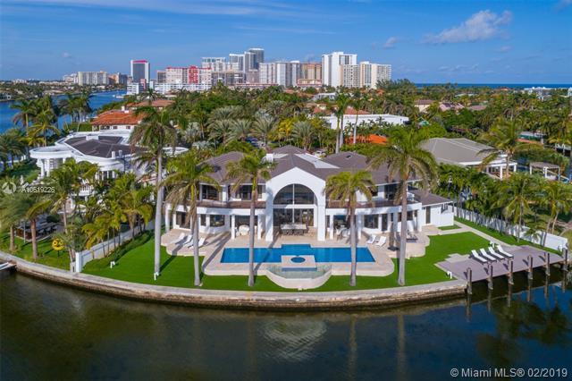 550 N Island Is, Golden Beach, FL 33160 (MLS #A10619226) :: ONE Sotheby's International Realty