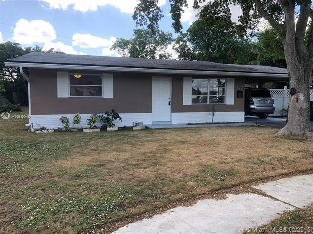 4570 NW 25th Pl, Lauderhill, FL 33313 (MLS #A10619948) :: Grove Properties