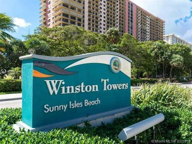 210 174th St #506, Sunny Isles Beach, FL 33160 (MLS #A10620349) :: Miami Villa Group