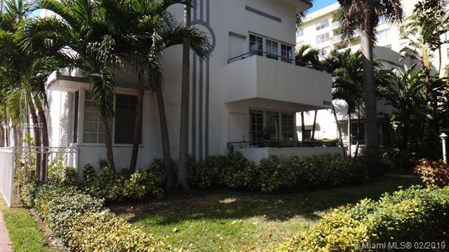 1000 Meridian Av #3, Miami Beach, FL 33139 (MLS #A10620433) :: Miami Villa Group