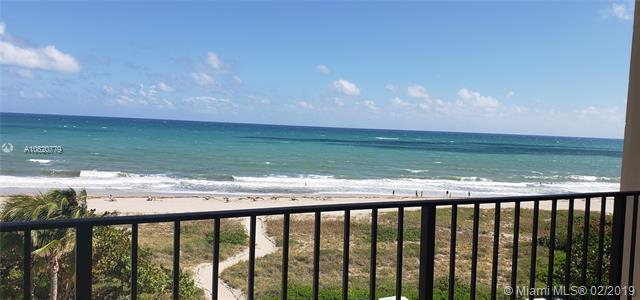 1900 S Ocean Blvd 5F, Lauderdale By The Sea, FL 33062 (MLS #A10620779) :: The Howland Group