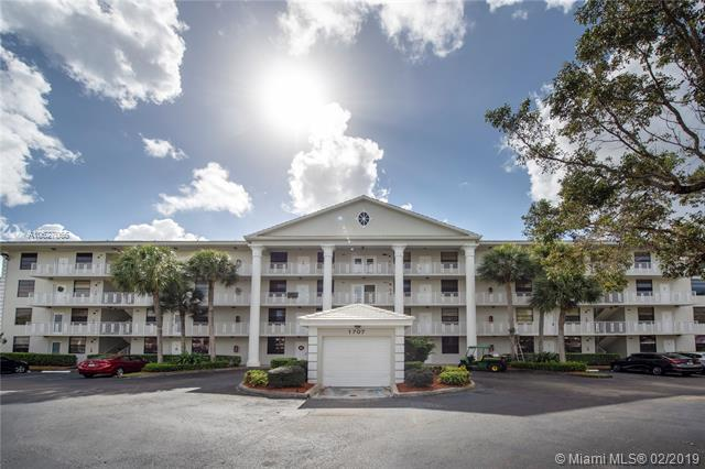 1707 Whitehall Dr #303, Davie, FL 33324 (MLS #A10627055) :: EWM Realty International