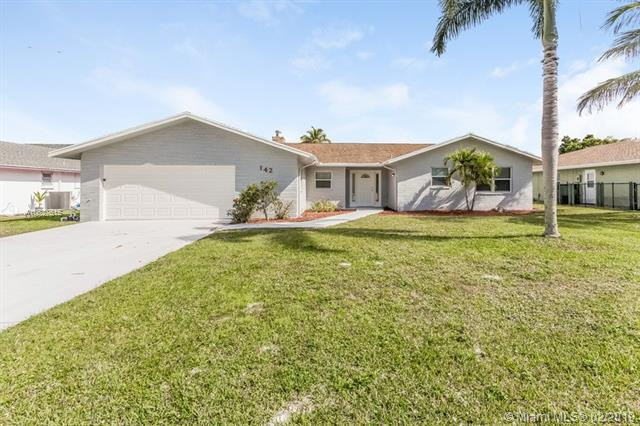 142 Meadowlark Dr, Royal Palm Beach, FL 33411 (MLS #A10627615) :: The Paiz Group