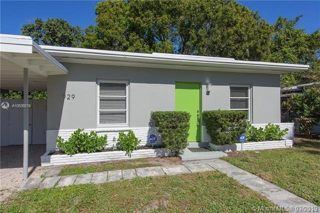929 SW 20th St, Fort Lauderdale, FL 33315 (MLS #A10636819) :: The Paiz Group