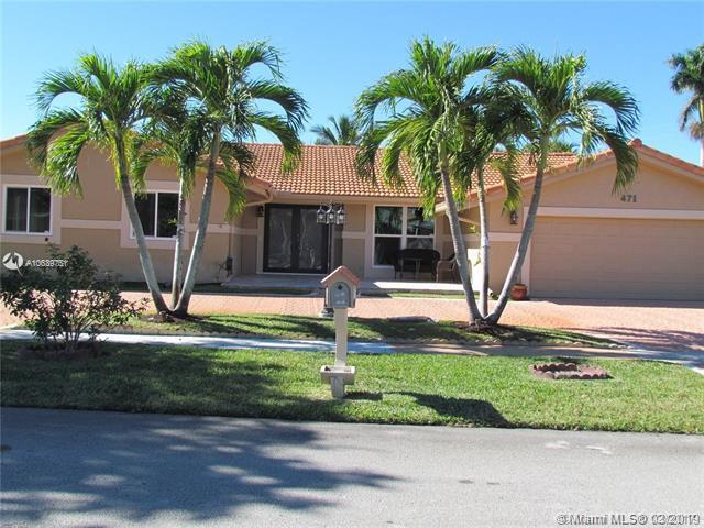 471 Birchwood Way, Weston, FL 33326 (MLS #A10639751) :: EWM Realty International