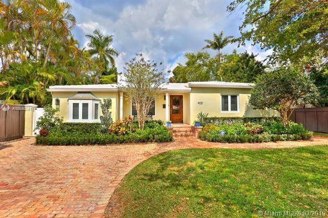 4021 Woodridge Rd, Coconut Grove, FL 33133 (MLS #A10640891) :: The Adrian Foley Group