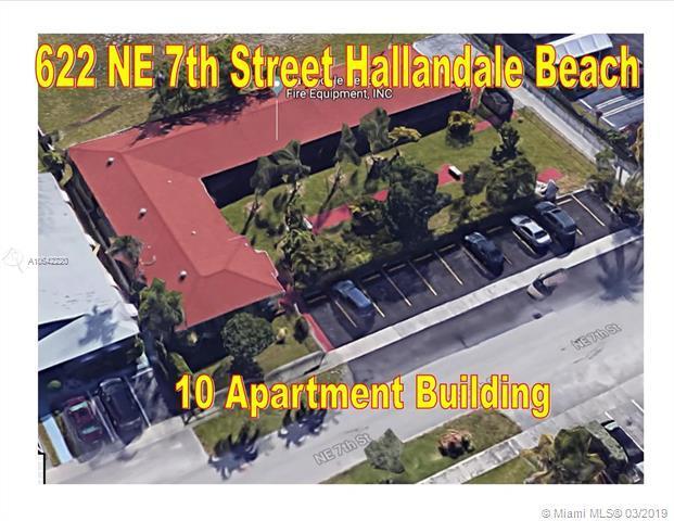 622 NE 7th St, Hallandale, FL 33009 (MLS #A10642220) :: The Teri Arbogast Team at Keller Williams Partners SW
