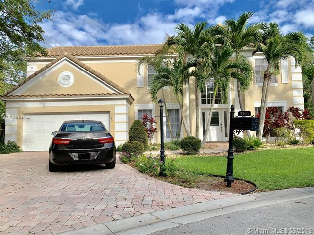 3763 Cypress Fern Way, Coral Springs, FL 33065 (MLS #A10642747) :: The Paiz Group