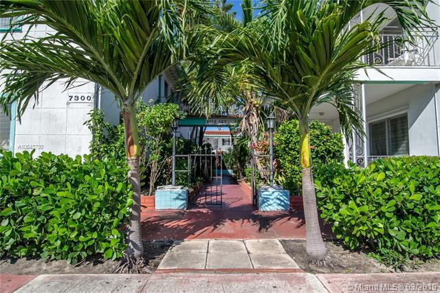 7300 Byron Ave #19, Miami Beach, FL 33141 (MLS #A10643700) :: The Riley Smith Group
