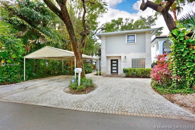 4046 El Prado Blvd, Coconut Grove, FL 33133 (MLS #A10645181) :: The Adrian Foley Group