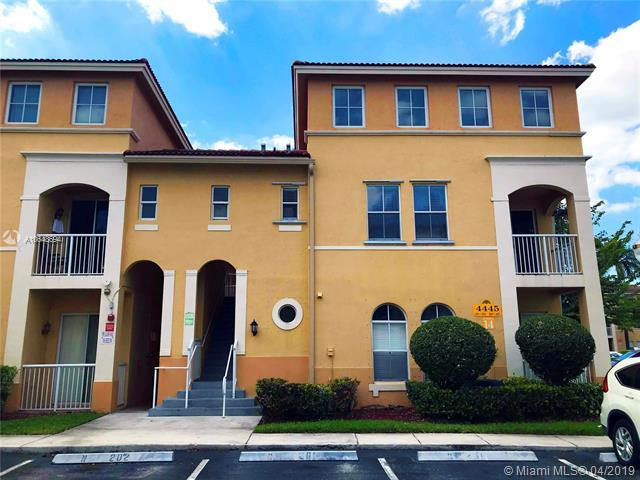 4445 SW 160th Ave #203, Miramar, FL 33027 (MLS #A10648694) :: Green Realty Properties
