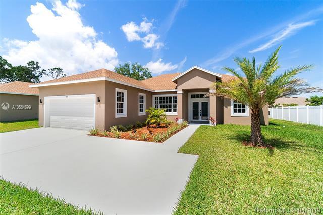 661 NW Floresta Dr, Port Saint Lucie, FL 34983 (MLS #A10654899) :: Grove Properties