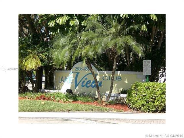 2871 N Oakland Forest Dr #111, Oakland Park, FL 33309 (MLS #A10655180) :: RE/MAX Presidential Real Estate Group