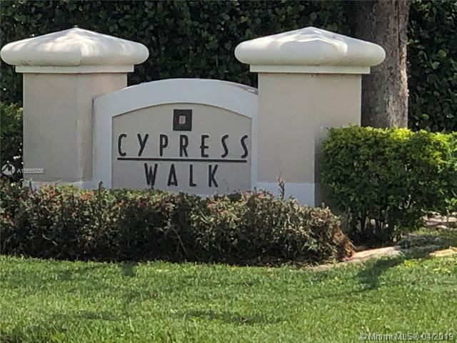 6804 Cypress Walk Ter #6804, Tamarac, FL 33321 (MLS #A10655886) :: The Riley Smith Group