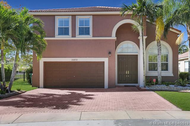 15870 SW 50th St, Miramar, FL 33027 (MLS #A10656475) :: The Riley Smith Group
