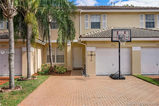 8995 NW 53rd Ct #8995, Sunrise, FL 33351 (MLS #A10657245) :: The Paiz Group
