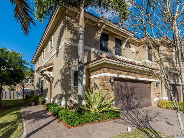 9629 Town Parc Circle South, Parkland, FL 33076 (MLS #A10657716) :: The Chenore Real Estate Group