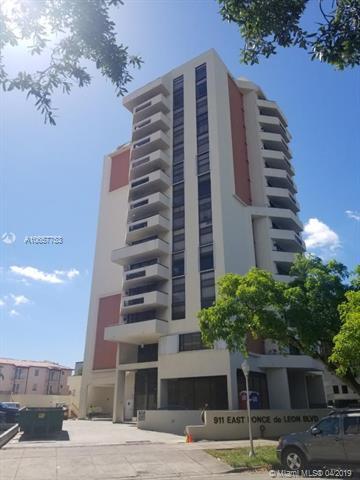 911 E Ponce De Leon Blvd #904, Coral Gables, FL 33134 (MLS #A10657753) :: The Paiz Group