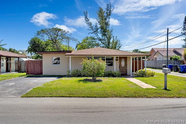 913 N 32nd Ave, Hollywood, FL 33021 (MLS #A10658158) :: Green Realty Properties