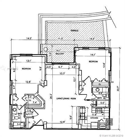 701 Brickell Key Blvd #405, Miami, FL 33131 (MLS #A10659412) :: The Riley Smith Group