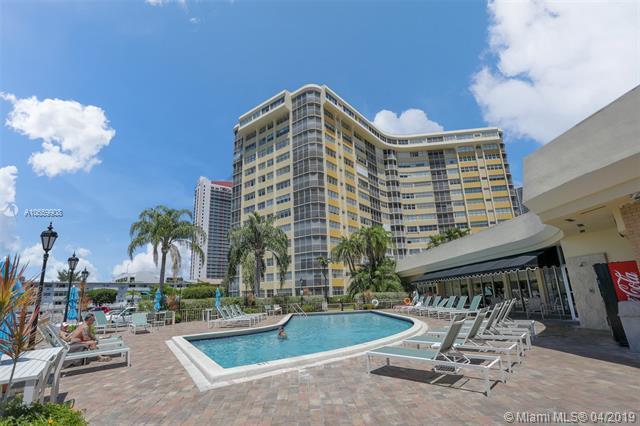 100 Golden Isles Dr #714, Hallandale, FL 33009 (MLS #A10659908) :: Miami Villa Group