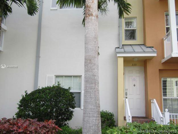 335 SW 13th Ter #335, Fort Lauderdale, FL 33312 (MLS #A10660392) :: Green Realty Properties