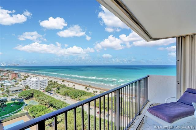 1201 S Ocean Dr 1701S, Hollywood, FL 33019 (MLS #A10660858) :: Laurie Finkelstein Reader Team