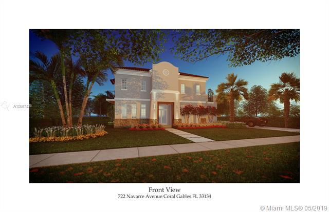 722 Navarre Ave, Coral Gables, FL 33134 (MLS #A10667439) :: The Rose Harris Group