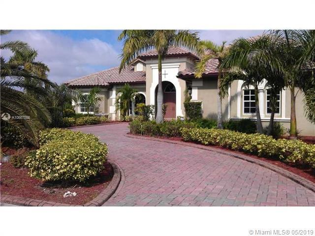 14443 S Jockey Cir S, Davie, FL 33330 (MLS #A10667866) :: Green Realty Properties