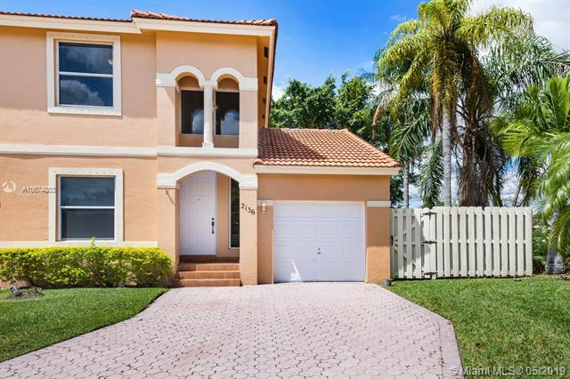 2136 NW 162nd Way #2136, Pembroke Pines, FL 33028 (MLS #A10674853) :: The Teri Arbogast Team at Keller Williams Partners SW