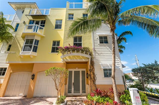4332 Seagrape Dr #7, Lauderdale By The Sea, FL 33308 (MLS #A10675920) :: The Paiz Group