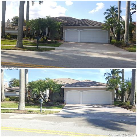 2569 Eagle Run Lane, Weston, FL 33327 (MLS #A10676416) :: Grove Properties